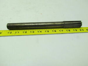 1 X10 1 4 Oal 8 Straight Flute Carbide Tipped Chucking Reamer