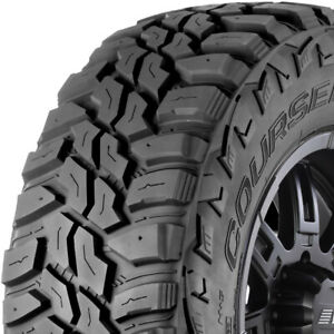 4 New Lt285 70r17 Mastercraft Courser Mxt Mud Terrain 10 Ply E Load Tires 285701