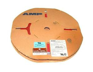 New Spool Of Amp 1 57040 4 Flat Ribbon Cable 28 Awg 300 V 100 Ft 14 Conductor