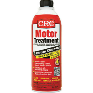 Crc Motor Treatment Internal Engine Crankcase Cleaner 16 Oz Spray 05316