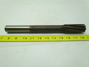 1 1 4 x11 1 2 Oal Right Spiral 8 Flute Carbide Tipped Chucking Reamer