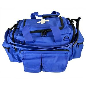 Blue Emt Medical Gear Bag Tactical Emergency Trauma Tools Shoulder Bag Ems Medic