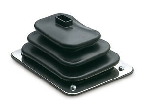 Indy Qualifier Small Rubber Floor Boot Ring For Hurst Chrome Shifter Sticks