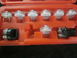 Deluxe Electronic Fuel Injection 9pc Test Light Set Noid 4 Ford Gm Bosch Etc