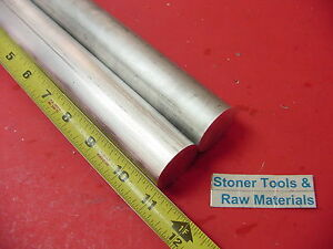 2 Pieces 1 1 4 Aluminum 6061 Round Rod 11 Long T6511 Solid Extruded Bar Stock