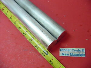2 Pieces 1 1 4 Aluminum 6061 Round Rod 24 Long T6511 1 250 Od Solid Bar Stock