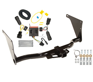 Trailer Tow Hitch For 13 16 Ford Escape All Styles W Wiring Harness Kit