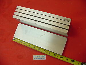 5 Pieces 1 2 X 3 Aluminum 6061 Flat Bar 10 Long T6511 50 Solid Mill Stock