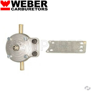 Weber Carburetor Universal Fuel Pressure Regulator 1 5 To 20 Psi