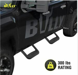 Bully Bbs1103 Truck Bed Side Step Set Of 2 Two Piece Kit