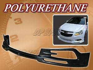For 11 12 Chevy Cruze T 3 Front Bumper Lip Body Spoiler Kit Polyurethane Pu