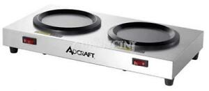 Adcraft Coffee Warmer Plate Double Station Wp 2