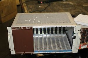 Canberra 2000 Nim Bin With Power Supply Nice