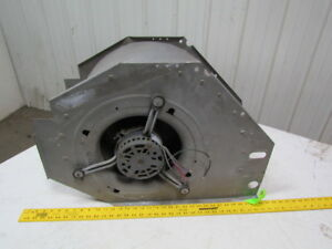 Squirrel Cage Fan Blower Assy 6 Hp 208 230 1 Ph 12 Wide 20 1 2 Tall 29 long