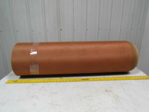 Tan 1 Ply Slip Top Conveyor Belt 82ft X 39 X 1 8 Thick Nylon Backed