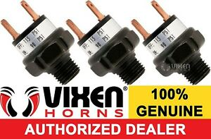 3 Pack 90 115 Psi Air Pressure Switch Valve F horn Compressor Tank 12v Vxa7115 3