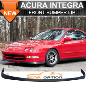 Fits 94 97 Acura Integra Pu Front Bumper Lip Spoiler Si Vtec Sir Style Urethane