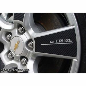Carbon Tuning Wheel Mask Decal Sticker Full Set 16 For Gm Chevrolet Cruze 2009