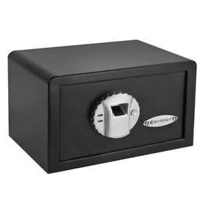 Barska Small Mini Biometric Safe W fingerprint Lock Home Jewelry Gun Ax11620