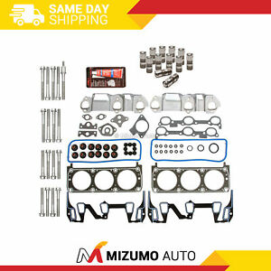 Head Gasket Set Bolts Lifters Fit 93 96 Buick Chevrolet Pontiac Oldsmobile 3 1