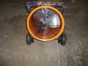 0623 New Dayton Electric Salamander Heater Fan Forced 480v 60hz 1rku2