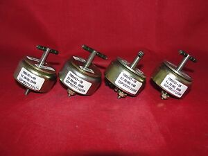 Lucas Ledex Sais burgess 156101 06 Low Profile Linear Solenoid Lot Of 4