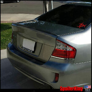 Rear Trunk Lip Spoiler Wing Fits Subaru Legacy 2005 09 4dr Bl Spoilerking 244l