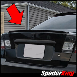 Rear Trunk Lip Spoiler Wing Fits Honda Civic 2001 05 4dr Spoilerking
