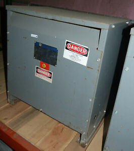 Square D 30 Kva Transformer 480 208y 120 30t3hb 3 Phase Sorgel