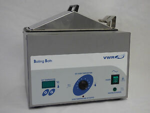Vwr 1296 Boiling Water Bath Part 9021133 Nice Condition Fast Shipping