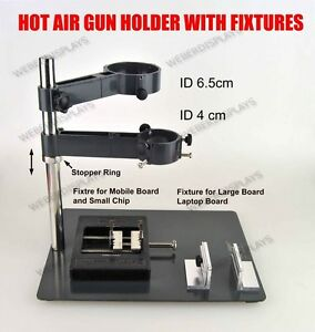 Hot Air Gun Holder With Fixtures For Smd Rework Soldering Desoldeing Station