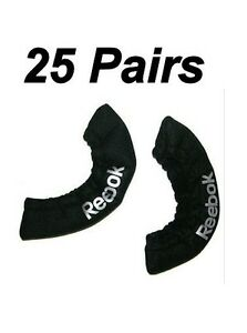 25 New Reebok ice hockey skate blade covers size junior Jr. black ACBCV guards