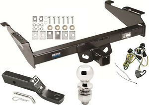 1995 2002 Dodge Ram 1500 2500 3500 Complete Trailer Hitch Package W Wiring Kit