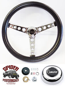 1969 1994 Camaro Steering Wheel 14 1 2 Classic Chrome Steering Wheel