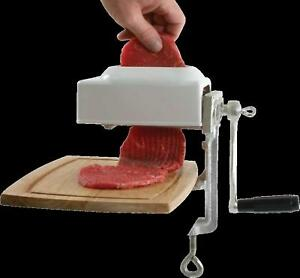 Meat Tenderizer Cuber Marinate Hand Crank Type New