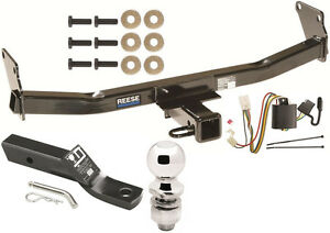 2006 2008 Mitsubishi Endeavor Complete Trailer Hitch Package W Wiring Kit Reese