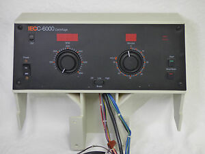 Damon Iec C 6000 Centrifuge Head Unit Controls Part Complete Ships Fast