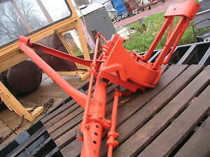 Case Tractor Wide Front End