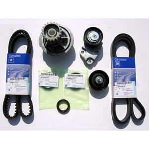 Timing Belt Kit For Gm Chevrolet Optra Lacetti Suzuki Forenza 1 5 1 6 Dohc Oem