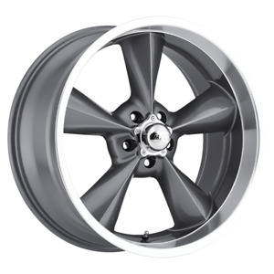 4 New 15x8 0 Offset 5x114 3 Mb Motoring Old School Gun Metal Wheels Rims