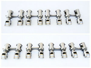 Bbc Chevy gmc 396 502 Solid mechanical Roller Lifters W horizontal Link Bar