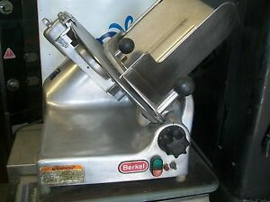 Berkel Manual Slicer Comlete Sharpener Etc 115volts 900 Items On E Bay