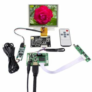 Hdmi Lcd Controller Board With 5 Zj050na 08c 640x480 Lcd Touch Sensor