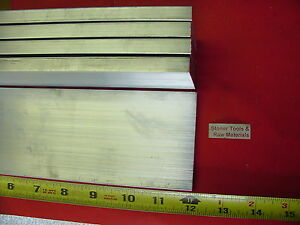 5 Pieces 1 2 X 3 Aluminum 6061 Flat Bar 12 Long T6511 Solid Plate Mill Stock
