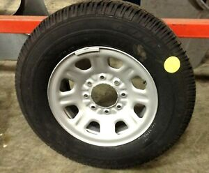 2011 2015 Chevy Gmc Truck 8 Lug Wheels And Tires Brand New Good Year 265 70r18
