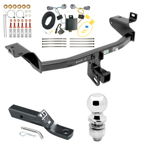 Trailer Hitch W Wiring Kit Fits 2014 2017 Jeep Cherokee Class 3 Brand New Reese