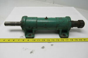 Machine Spindle Cartridge Assembly W cast Iron Mount Housing Collet Chuck