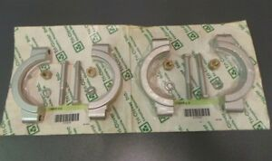 Tri clover Sanitary Clamps Stainless 13mhp 3 5 Lot Of 2 Sealed New