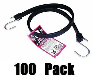 100 Ea Keeper 06235 35 Epdm Rubber Bungee Cord Tie Down Straps
