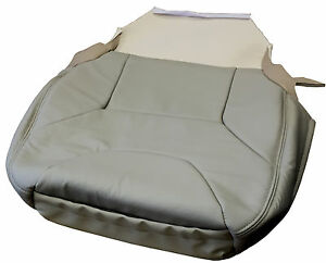 Volvo V70 Xc70 Frnt Seat Cover Leather Upholstery Light Beige Oak Arena A981 15g